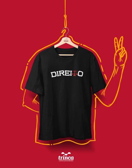 Camiseta Universitária - Direito - Balanceado - Basic