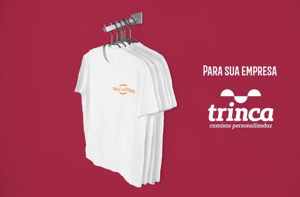 Kit Camisetas Empresa - 5 peças - Basic (LOGO PEITO)