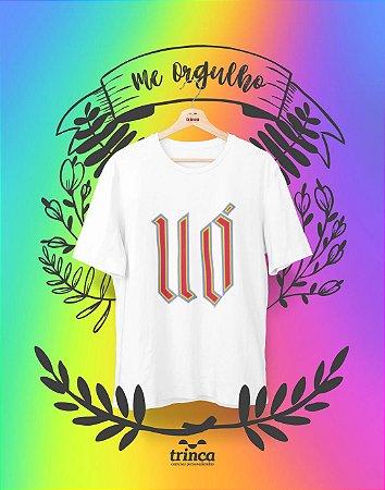 Camiseta Personalizada - Uó - Me Orgulho - Basic