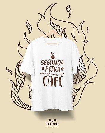 Camiseta Personalizada - Café - Coffee First - Basic