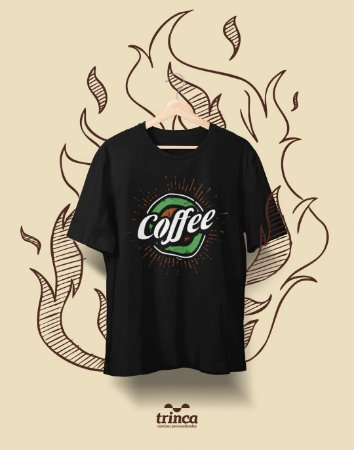 Camiseta Personalizada - Café - Coffee - Basic