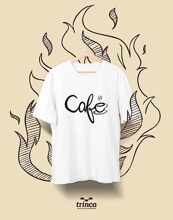 Camiseta Personalizada - Café - Pingado - Basic