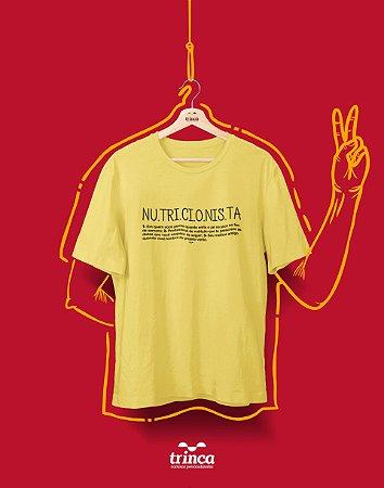 Camisa Universitária - Nutrição - NU•TRI•ÇÃO - Premium