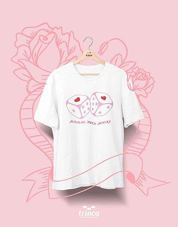 Camiseta Personalizada - Dia do Amor - Dados - Basic