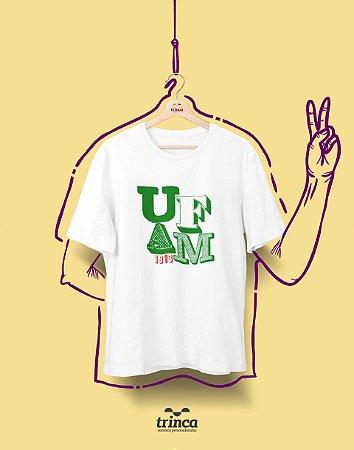 Camiseta - Coleção Sou Federal - UFAM - Basic