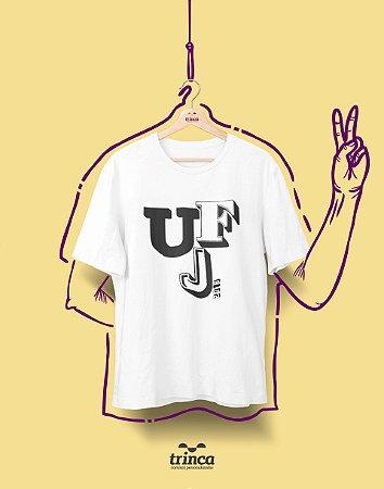 Camiseta - Coleção Sou Federal - UFJ - Basic