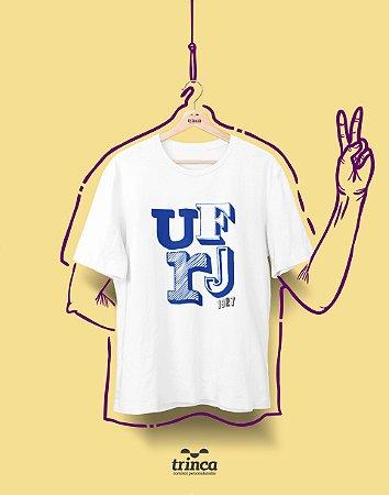 Camiseta - Coleção Sou Federal - URFJ - Basic