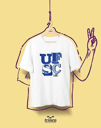 Camiseta - Coleção Sou Federal - UFSC - Basic