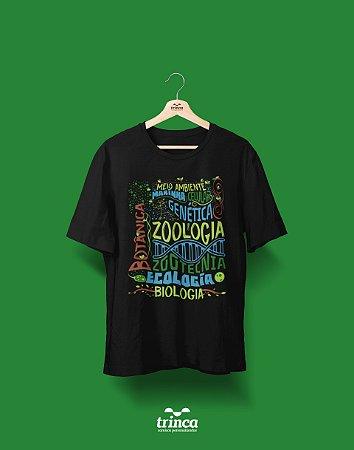 Camisa Biologia - De tudo um pouco! - Basic