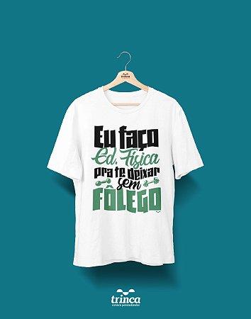Camisa Universitária Educação Física - As manha - Basic