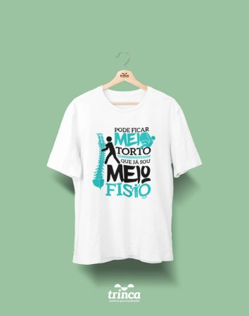 Camisa Universitária Fisioterapia - Meio Fisio - Basic