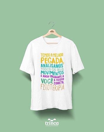 Camisa Fisioterapia - Pra quem tem pegada - Basic