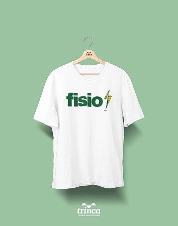 Camisa Universitária Fisioterapia - Fisio Raio Verde - Basic
