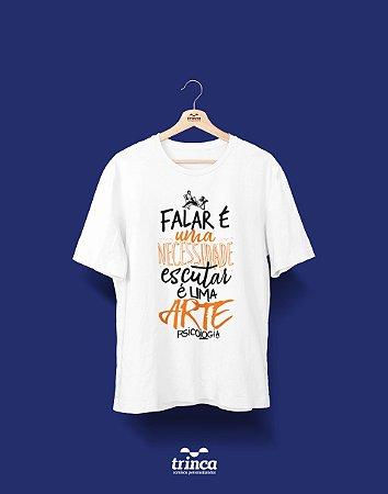 Camisa Universitária Psicologia - Divã - Basic