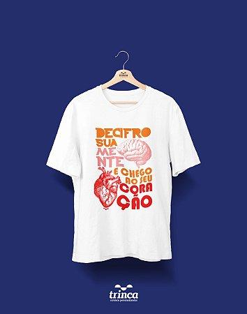 Camisa Universitária Psicologia - Por você - Basic