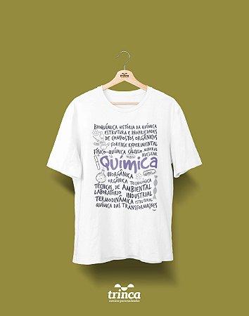 Camisa Universitária Química - Que Química - Basic
