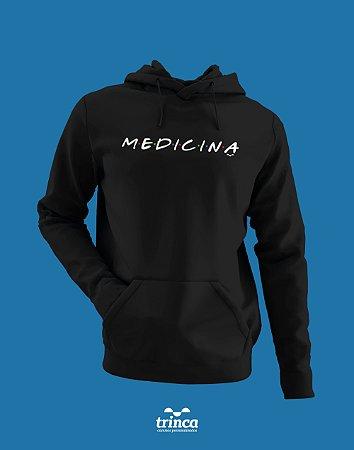 Moletom Canguru (Flanelado) - Medicina - Friends