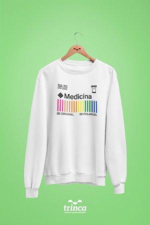 Moletom Básica (Flanelado) - Coleção Polaroid - Medicina