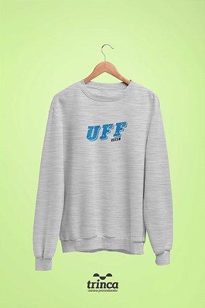 Moletom Básica (Flanelado) - Coleção Somos UF - UFF