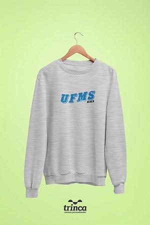 Moletom Básica (Flanelado) - Coleção Somos UF - UFMS