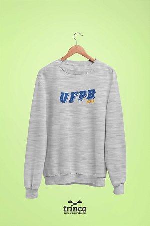 Moletom Básica (Flanelado) - Coleção Somos UF - UFPB