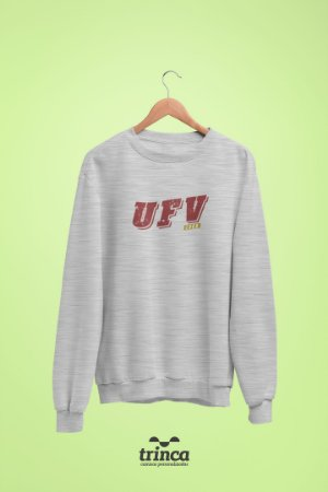 Moletom Básica (Flanelado) - Coleção Somos UF - UFV