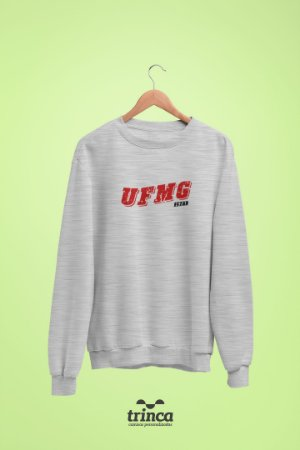 Moletom Básica (Flanelado) - Coleção Somos UF - UFMG