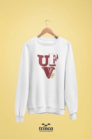 Moletom Básica (Flanelado) - Sou Federal - UFV