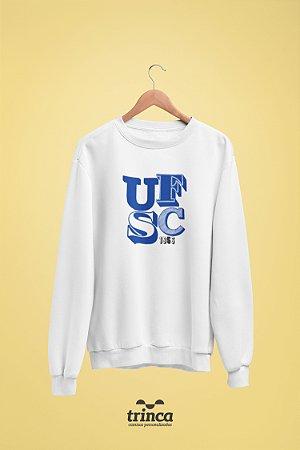 Moletom Básica (Flanelado) - Sou Federal - UFSC