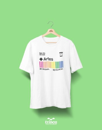 Camiseta Universitária - Artes - Polaroid - Basic