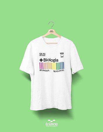 Camiseta Universitária - Biologia - Polaroid - Basic