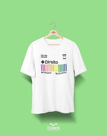 Camiseta Universitária - Direito - Polaroid - Basic