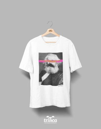 Camiseta - Coleção Imortais - Karl Marx- Basic