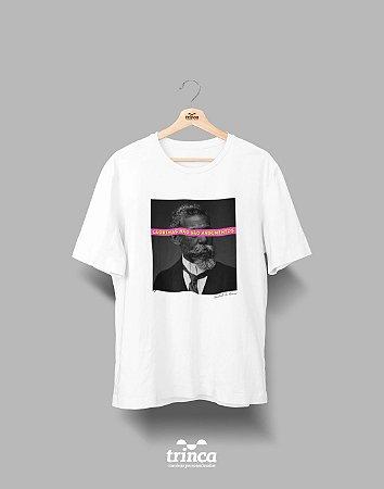 Camiseta - Coleção Imortais - Machado de Assis - Basic