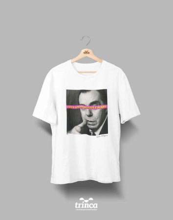Camiseta - Coleção Imortais - Nelson Rodrigues - Basic