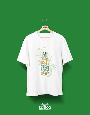 Camiseta Universitária Agronomia - Insubstituível - Basic