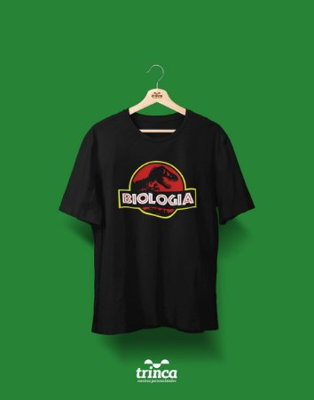Camisa Universitária Biologia - Jurassic - Basic