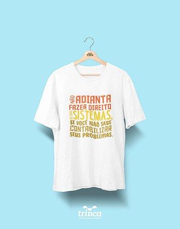 Camisa Universitária Ciências Contábeis - Contabilize - Basic