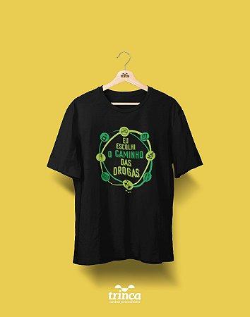 Camisa Universitária Farmácia - Drogaria - Basic