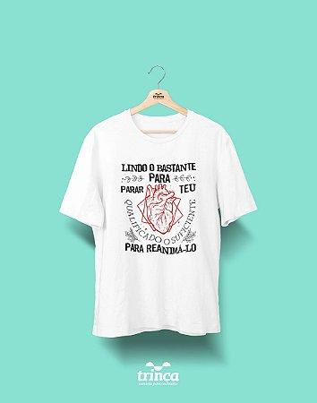 Camisa Universitária Medicina - Cardio Ele para Ele - Basic