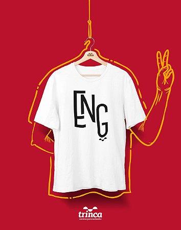 Camiseta Universitária - Engenharia - Minimal - Basic