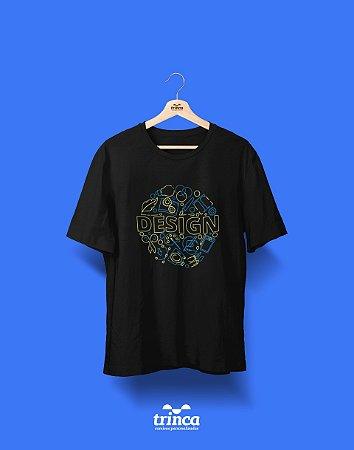 Camisa Universitária Design Gráfico - Criativo - Basic