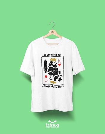 Camisa Universitária Marketing - Baralho - Basic