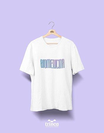 Camiseta Universitária - Biomedicina - Tie Dye - Basic