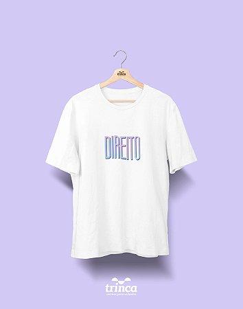 Camiseta Universitária - Direito - Tie Dye - Basic