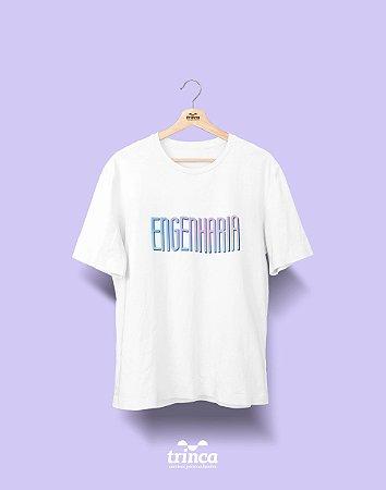 Camiseta Universitária - Engenharia - Tie Dye - Basic