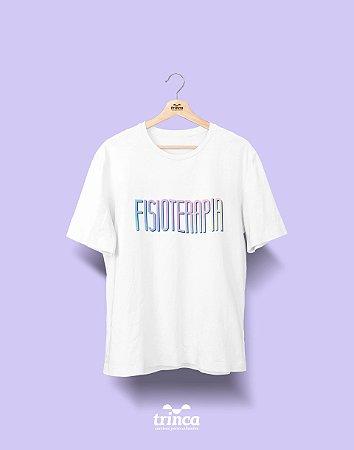 Camiseta Universitária - Fisioterapia - Tie Dye - Basic