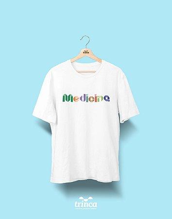 Camiseta Universitária - Medicina - Origami - Basic