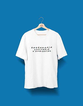 Camiseta Universitária - Engenharia Ambiental - Friends - Basic