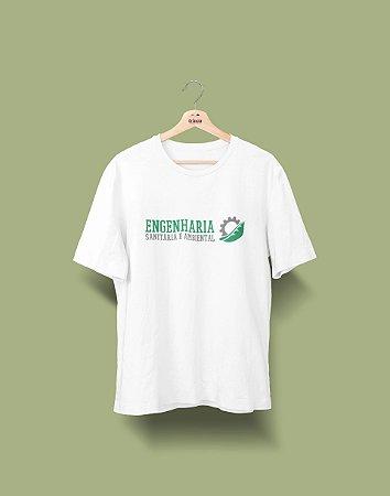 Camiseta Universitária - Engenharia Ambiental - Símbolo